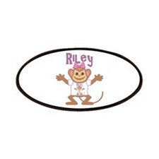 Little Monkey Riley Patches