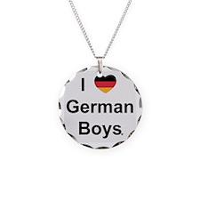 I Love German Boys Necklace