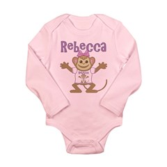 Little Monkey Rebecca Long Sleeve Infant Bodysuit