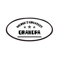 World's Greatest Grandpa Patches