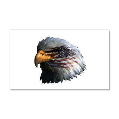 USA Eagle Car Magnet 20 x 12