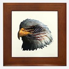 USA Eagle Framed Tile