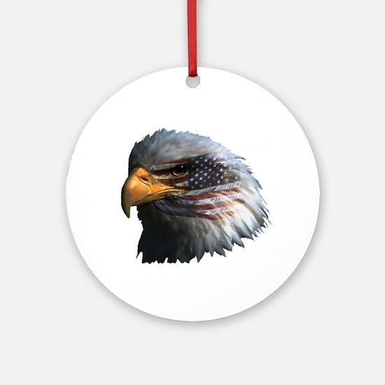USA Eagle Ornament (Round)