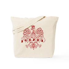 Poland Ink Red Eagle Tote Bag