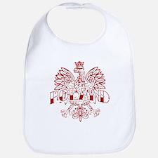 Poland Ink Red Eagle Bib