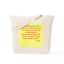 Nikola Tesla quotes Tote Bag