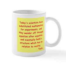 Nikola Tesla quotes Mug