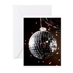 Disco Ball Greeting Cards (Pk of 20)