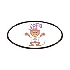Little Monkey Sofia Patches