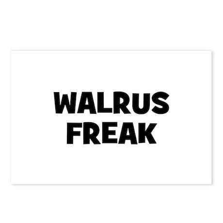 Walrus Freak Postcards (Package of 8)
