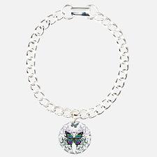 MultiColored Butterflies Bracelet