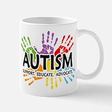 Autism:Handprint Mug
