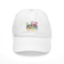 Autism:Handprint Baseball Cap