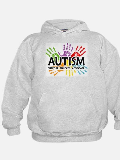 Autism:Handprint Hoodie