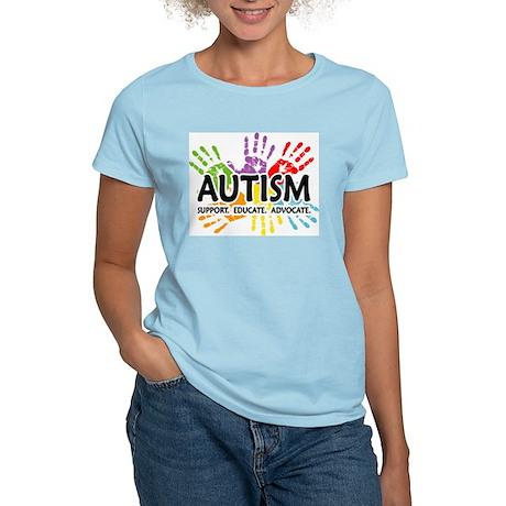 Autism:Handprint Women's Light T-Shirt