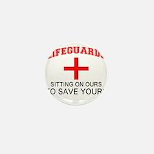 Cute Lifeguard Mini Button (10 pack)