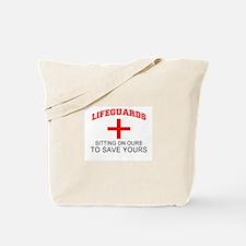 Cute Lifeguard Tote Bag