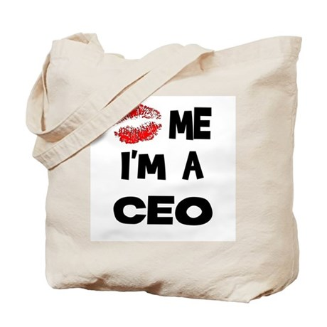 Kiss Me I'm A CEO Tote Bag
