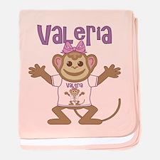 Little Monkey Valeria baby blanket
