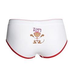 Little Monkey Zoey Women's Boy Brief