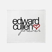 Edward Cullen Forever Throw Blanket