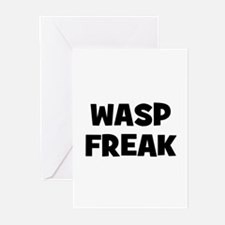 Wasp Freak Greeting Cards (Pk of 10)