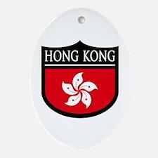 Hong Kong - Ornament (Oval)