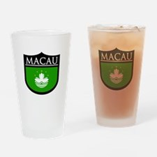 Macau Patch Drinking Glass