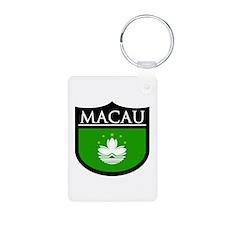 Macau Patch Keychains