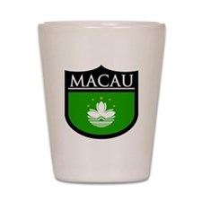 Macau Patch Shot Glass