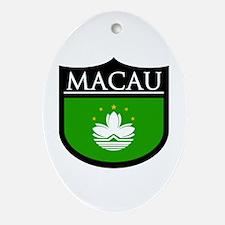 Macau Patch Ornament (Oval)