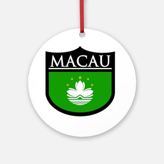 Macau Patch Ornament (Round)