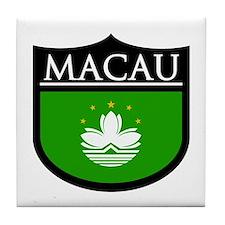 Macau Patch Tile Coaster