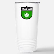 Macau Patch Stainless Steel Travel Mug