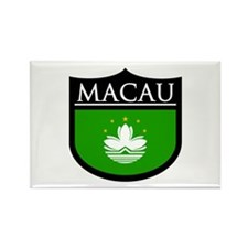 Macau Patch Rectangle Magnet