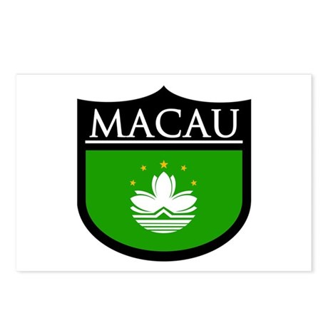 Macau Patch Postcards (Package of 8)