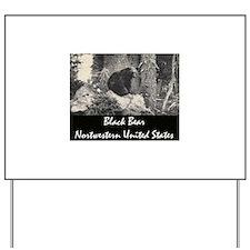 American Black Bear Yard Sign
