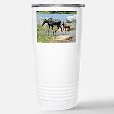 Cow & Calf Moose Travel Mug