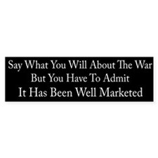 war Bumper Bumper Sticker