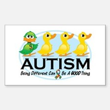 Autism Ugly Duckling Bumper Stickers