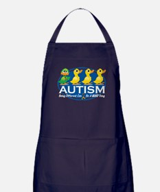 Autism Ugly Duckling Apron (dark)