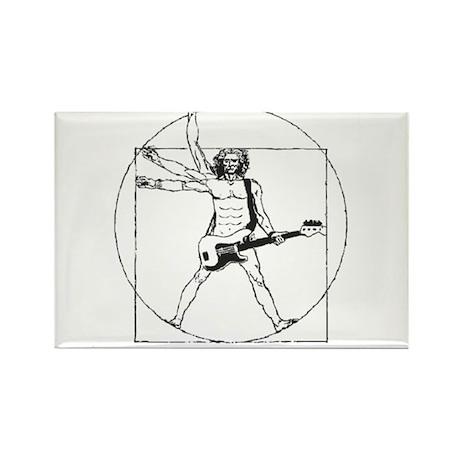 Leonardo Rocks! Rectangle Magnet (10 pack)
