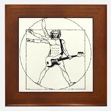 Leonardo Rocks! Framed Tile