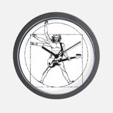 Leonardo Rocks! Wall Clock