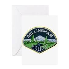 Bellingham Police Department Greeting Card