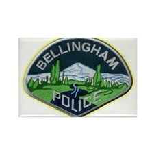 Bellingham Police Department Rectangle Magnet