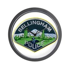 Bellingham Police Department Wall Clock
