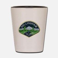 Bellingham Police Department Shot Glass
