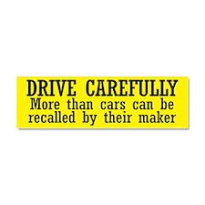 Drive Carefully Car Magnet 10 x 3