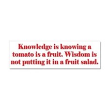 Tomato Fruit Salad Car Magnet 10 x 3